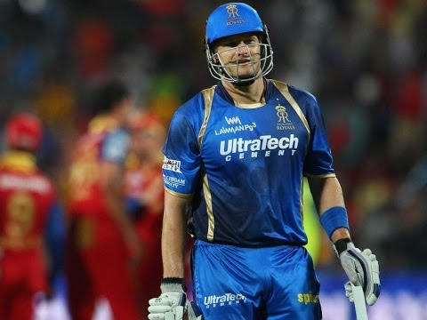 IPL cricket 2015 Rajasthan royals vs Royal challengers bangalore live match today highlights