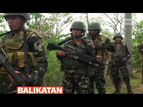 mitv - US and Philippine forces conducted live firing exercises at a military camp in Nueva Ecija