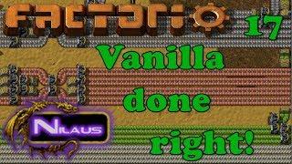 Factorio - Vanilla done right - E17 - Oil cracking and Lubricant