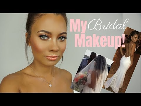 Recreating My Bridal Makeup + Talking About the BIG DAY! | Brittney Gray