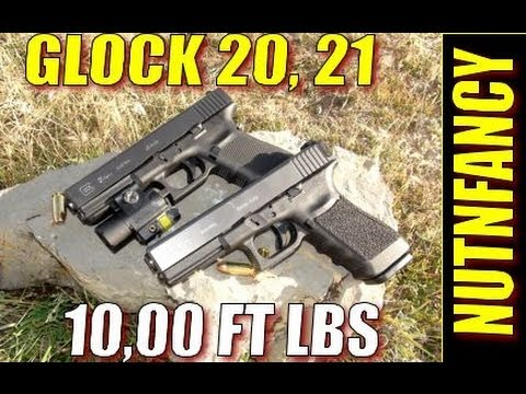Glock 20. Glock 21: 10.000 ft lbs of Stopping Power [Full Review) by Nutnfancy