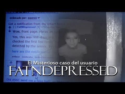 El Misterioso caso del usuario FatNDepressed | No abras los ojos