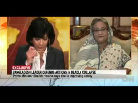 CNN.com | Interview of Prime Minister Sheikh Hasina Bangladesh