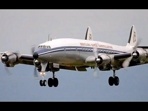 Breitling Super Constellation, DC-3 & Patrouille Suisse in Berne! HD