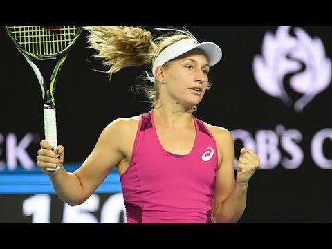 Daria Gavrilova v Petra Kvitova highlights (2R) | Australian Open 2016