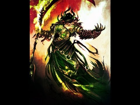 Guild Wars 2 - The Ultimate necromancer damage hybrid v2.0 (perfected tutorial)
