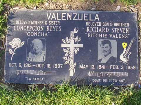 Ritchie Valens Funeral Ritchie Valens Quot Memories Quot
