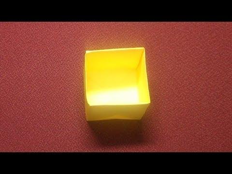 折り方 a4用紙 箱 折り方 : ... an origami box 折り紙 箱の折り方