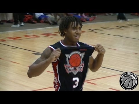 Corey Sanders entertains crowd with BACKFLIP & MORE in game - Showtime Ballers 2015 PG