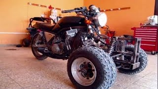 REVERSE TRIKE Using 600 CC Yamaha