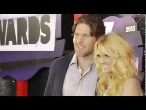 Carrie Underwood & Mike Fisher Cmt Music Awards video