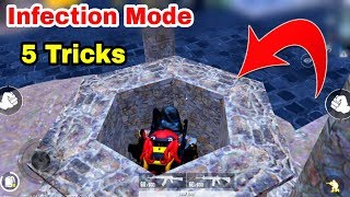 PUBG Mobile Infection Mode Top 5 New Secret Trick To Survive | Infection Mode Hidden Location