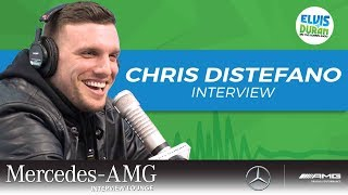 Chris Distefano on Not Being Able to Sneeze | Elvis Duran Show