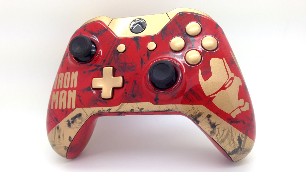 iron man themed custom painted xbox one edition acidic gaming youtube. Black Bedroom Furniture Sets. Home Design Ideas