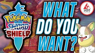 NEW Pokemon Sword And Shield Update... What Do YOU Want To See?