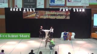Julia Geishauser & Patrick Pfaller - LM Baden-Württemberg & Hessen 2017