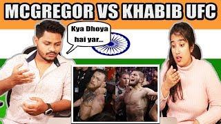 Indian Reaction On McGregor VS khabib UFC | Full Fighting Match | Krishna Views