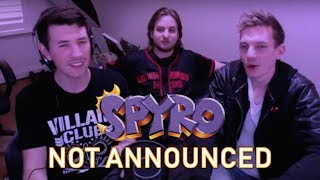 CrystalFissure live reaction to Spyro announcement not being announced during Activision Stream!