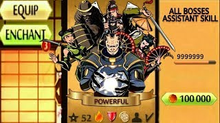 Shadow Fight 2 The Most Powerful All Bosses Assistant Skill