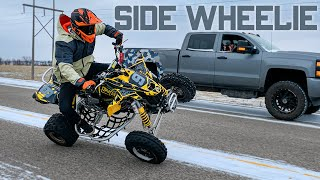 Longest Quad Two Wheel on YouTube