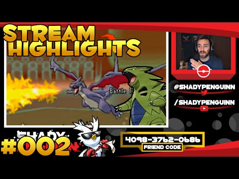 Pokemon X and Y Wifi Twitch Stream Highlights [Wifi Battle] #002