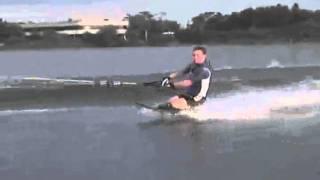Greatest  craziest tricks ever seen  Peter Parrillo Kneeboarding