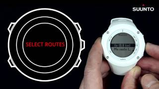 Suunto Ambit2 & Ambit3 - How to navigate with a preset route