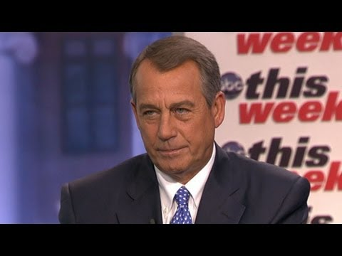 John Boehner 'This Week' Interview: 'What's Balanced About a Budget That Never Gets to Balanced'