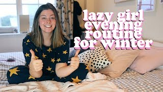 LAZY GIRL EVENING ROUTINE FOR WINTER | FOREO ISSA 2 review