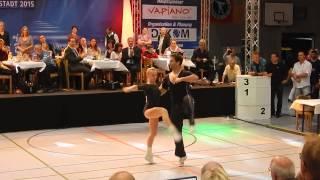 Michelle Uhl & Tobias Bludau - Deutsche Meisterschaft 2015
