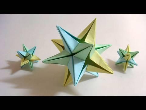 Karácsonyi csillag papírból