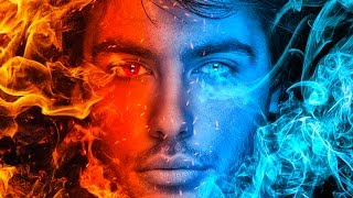 Fire and ice fantasy photo manipulation | photoshop tutorial
