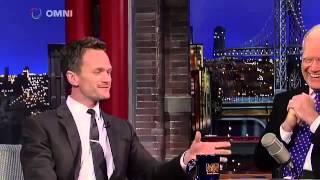 Neil Patrick Harris on David Letterman - March 30th 2015 - Full Interview