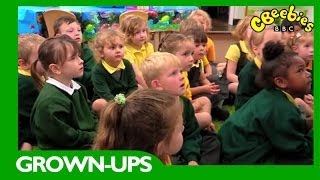 CBeebies Grown-ups: Time For School: Tips for preparing your child for Reception