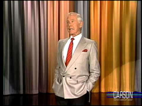 How to Predict the Quality of a Male Lover by His Underwear, Johnny Carson Part 3, 12/14/90