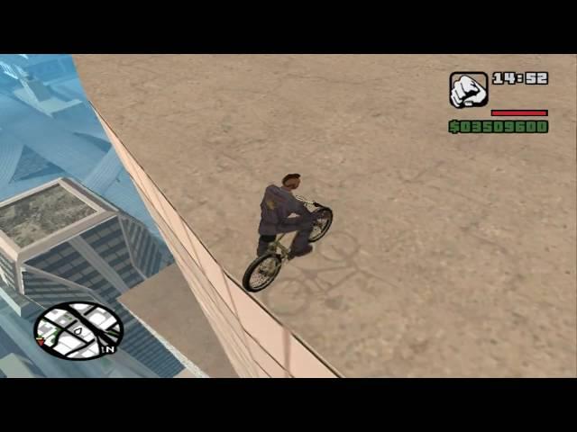 GTA San Andreas salto al edificio mas alto