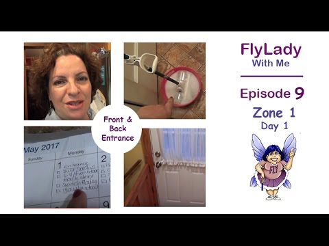 FlyLady With Me    Episode 9     Zone One -  Day One   