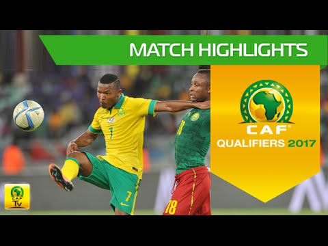 South Africa vs Cameroon | Africa Cup of Nations Qualifiers 2017