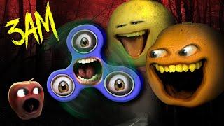 Annoying Orange - Fidget Spinner at 3am Challenge! #Shocktober