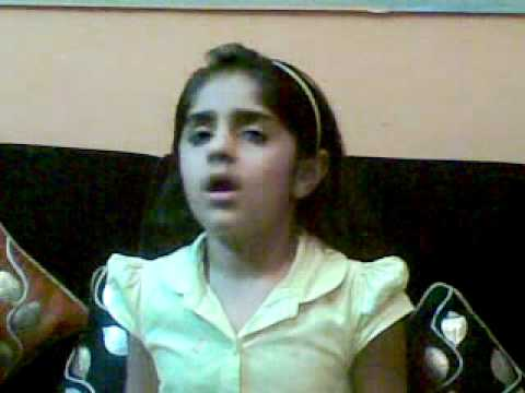My Little Doll Anah Preparing For Hindi Poem Recitation Competition... video