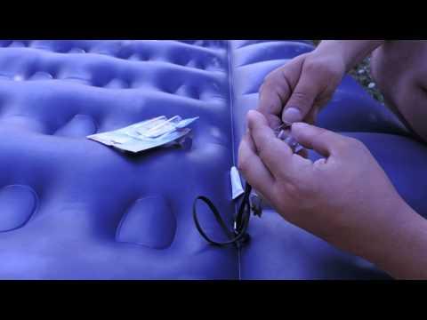 Чем заклеить надувной матрас интекс в домашних условиях