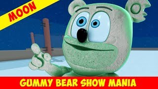 """""""Fly Me To The Moon"""" with MOON GUMMY - Gummy Bear Show MANIA"""
