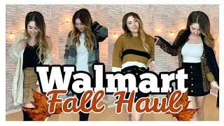 WALMART FALL CLOTHING HAUL 2019 | What's New at Walmart | Shop With Me At Walmart! #walmarthaul2019