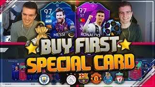 FIFA 19: CHAMPIONS LEAGUE Buy first Guy SPECIAL!! 🔥🏆