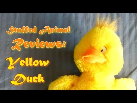 Stuffed Animal Reviews: Chica The Yellow Duck Chicken Hybrid Creature Thingamadoohickie