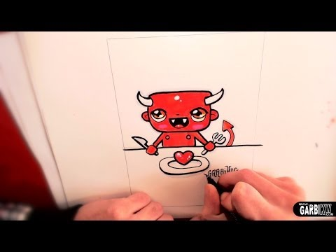 How To Draw a Chibi Devil by garbi kw