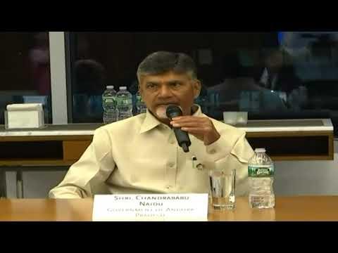 Honorable Chief Minister of Andhra Pradesh Shri Nara Chandrababu Naidu Visit to USA Day 03 Video 05