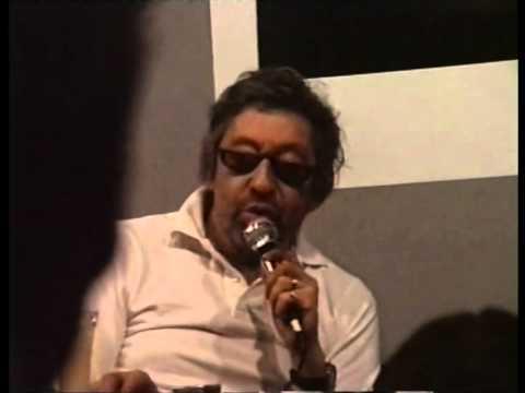 Serge Gainsbourg inédit (1/2) : Interview en public - Ultra rare footage - 1987 (part 1 on 2)