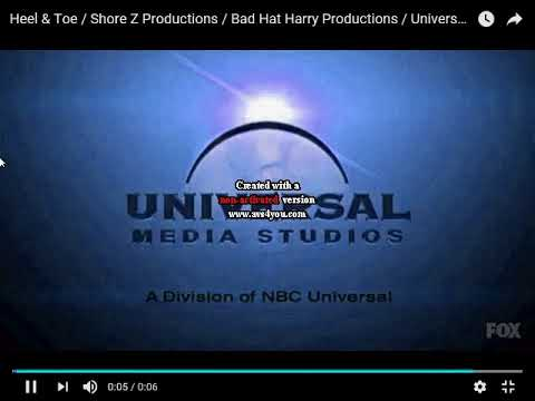 Universal Media Studios Effects Sponsored by  2 Effects