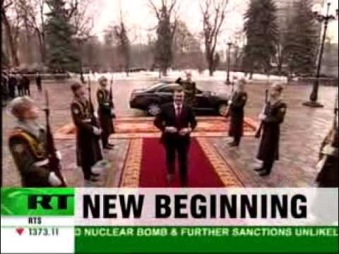 Yanukovich's inauguration. Russia Today